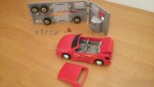 *** Super ! Playmobil - 4321 Atelier voiture tuning rouge