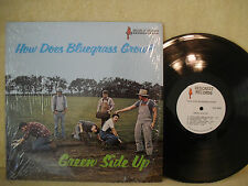 Green Side Up, How Does Bluegrass Grow?, Redcrest Records, DPX-600