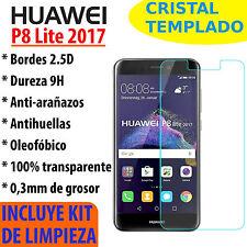 CRISTAL TEMPLADO PROTECTOR DE PANTALLA PARA HUAWEI P8 LITE 2017 VIDRIO 9H