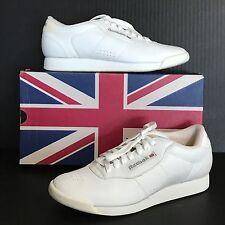 Reebok Shoes Sneakers Princess White Classic Leather Size 9 Aerobics 90s Vtg NOS
