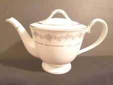 "NORITAKE China 4-cup Tea Pot with lid Norwood 6011 pattern, 5"""
