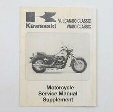 Kawasaki Vulcan800 Classic VN800 Classic Motorcycle Service Manual Supplement