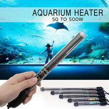 50 to 500W Heat Quartz Aquarium Heater Submersible Fish Tank Thermostat
