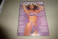 Cosmopolitan Magazine June 1977 Christie Brinkley purple bikini on cover RARE