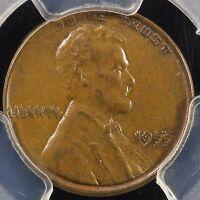 1955 1C Doubled Die Obverse Lincoln Cent PCGS AU 58