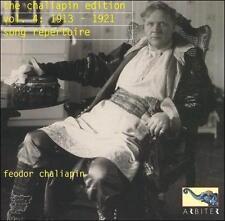 The Chaliapin Edition, Vol. 4: 1913-21 (Song Repertoire) (CD, May-2002, Arbiter)