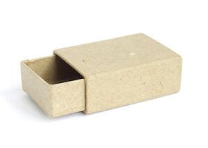 Paper Mache Box - Matchboxes x 24 pieces
