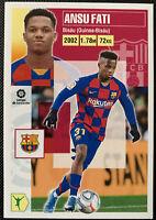 2020-21 Panini Espana Spain La Liga Santander Ansu Fati Barcelona #17