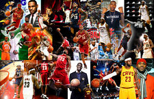 Lebron James Collage Poster