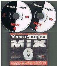 Various – Blanco Y Negro Mix 6   3 x CDs 1999