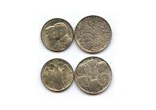 Griechenland 30 Drachmen 2x 1963, 1964  Silber   # 292