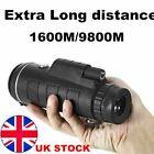 Super High Power 40X60 Portable HD Night Vision Monocular Telescope Binoculars