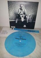 "7"" 45 GIRI HONEYCRACK - KING OF MISERY - BLUE - NUMBERED 3711"
