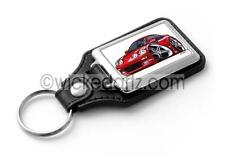 WickedKarz Cartoon Car Toyota Celica MK4 Turbo in Red Stylish Key Ring