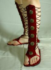 HANDMADE GLADIATORS SANDALS MADE WITH REAL LEATHER Size 8