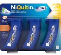 NIQUITIN MINIS T 4MG  MINT PACK OF 60-- 1-3-6-12--24 Expiry Sep-2021