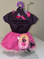 "My Life Doll 50's Poodle Skirt Outfit Will Fit American Girl 18"" Doll Clothes"
