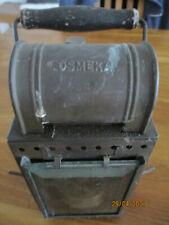 funktionelle alte Eisenbahnlampe Karbitlampe Osmeka1954  DB Deutsche Bahn