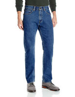 Levi's Jeans Signature Gold by Levi Strauss Men's Blue 42x32 Flex Straight $49