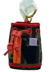 Fendi Mon Tresor Micro Bucket Bag Charm - N