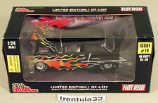 Limited Edition '55 CHEVY BEL AIR 1955 Black HOT ROD 1:24 scale Racing Champions