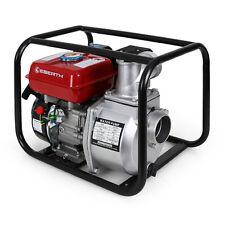 """EBERTH 3"""" 6,5 CV Pompe à eau à essence thermique Motorpompe 4 temps 60.000 L/h"""
