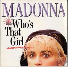 "45 T SP MADONNA ""WHO'S THAT GIRL"" & ""WHITE HEAT"""