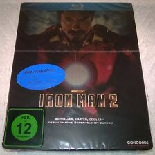 Iron Man 2 (2010, Germany, Region Free) MM Exclusive Steelbook NEW