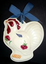 Lenox Rooster Cookie Mold or Ornament
