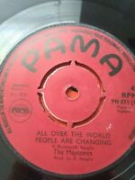 "The Maytones-All Over The World People Are Changing 7"" Vinyl Single UK REGGAE"