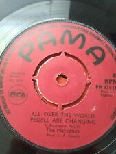 """The Maytones-All Over The World People Are Changing 7"""" Vinyl Single UK REGGAE"""