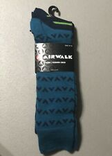 Airwalk 3 Pair Men's Soft Feel Fashion Crew Socks Shoe Size 6-12.5 New