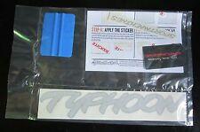 1992 GMC Truck Silver Typhoon Decal Kit