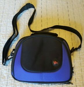 Nintendo DS Travel Case - Black and Blue - Games and Battery Holder