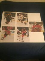 Vintage Florida Panthers NHL 8x10 Photos (5) Luongo/Bouwmeester/Kozlov & More