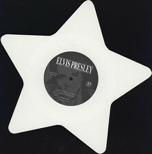 "Elvis Presley ‎– It's Now Or Never on 7"" White Star Shaped Vinyl Single NEW"