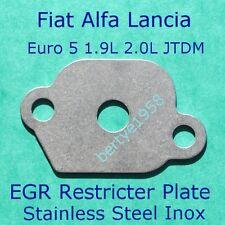 EGR Valve Restricter Plate 1.9L 2.0L JTDM Fiat Alfa Lancia Opel Euro 5 block