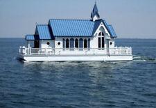 House Boat Catalog L36' X W8' Professionally built Tiny House on Pontoons