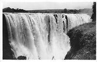 B92014 main falls victoria falls  rhodesia  real photo  africa