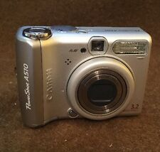 Canon PowerShot A510 3.2 MP Used Tested Works
