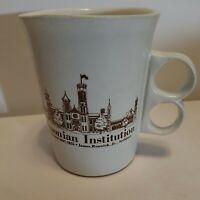 Vintage Smithsonian Institution Cup Trigger Handle Bennington Pottery Mug 1840
