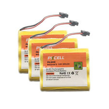 3 Cordless Home Phone Rechargeable Battery For Uniden BT905 BT-905 CLT880 PKCELL