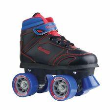Chicago Boys Sidewalk Roller Skate - Black Youth Quad Skates - Size 4