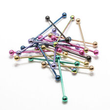 Ear Industrial Barbell 14g 38mm Piercing 20 Pack Body Jewelry Anodized Titanium
