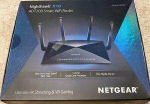 Netgear Nighthawk X10 AD7200 r9000 Router w/Plex - Ethernet port issues