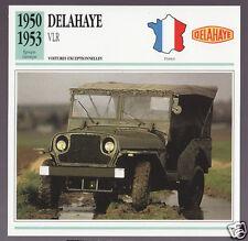 AMIGO USA War Army Jeep Picture CARD 1972 GM HARIMAU