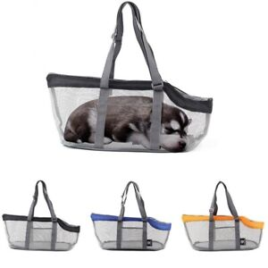 Outdoor Travel Picnic Pet Dogs Cats Puppy Backpack Breathable Carrier Bag Mesh