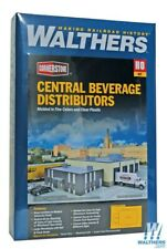 Walthers 933-4042 Central Beverage Dist w/Office Kit HO Scale Train