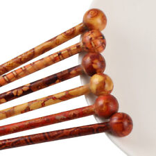 10 Pcs Elegant Vintage Handmade Printed Hair Sticks Shawl Picks Pins Forks
