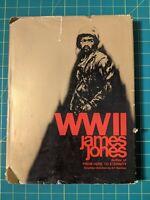James JONES - WW II - First Edition 1st Printing 1975 HCDJ